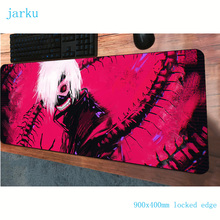 tokyo ghoul padmouse 900x400x3mm gaming mousepad game laptop large mouse pad gam