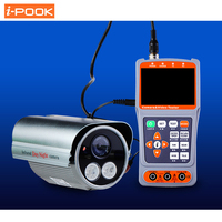 3.5 LCD CVBS Analog Camera CCTV Tester Monitor Video Audio PTZ DC 12V 5V Out UTP RJ45 Cable Test with Optical Power Meter