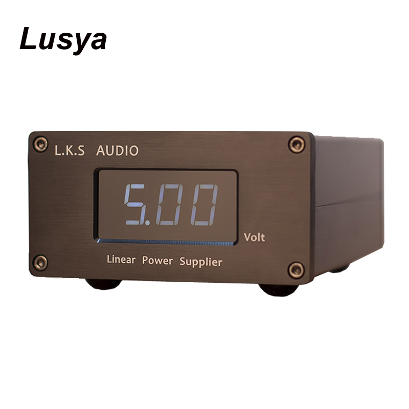 LPS-25-USB 5V Output Low Noise Linear Power Supply For USB DAC HiFi Power Amplifier T0542