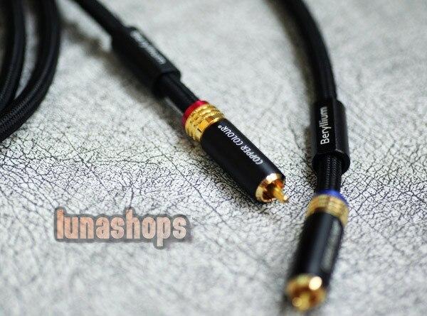 ФОТО 1m Copper Colour CC Special Version RCA Signal Cable Memento-BE