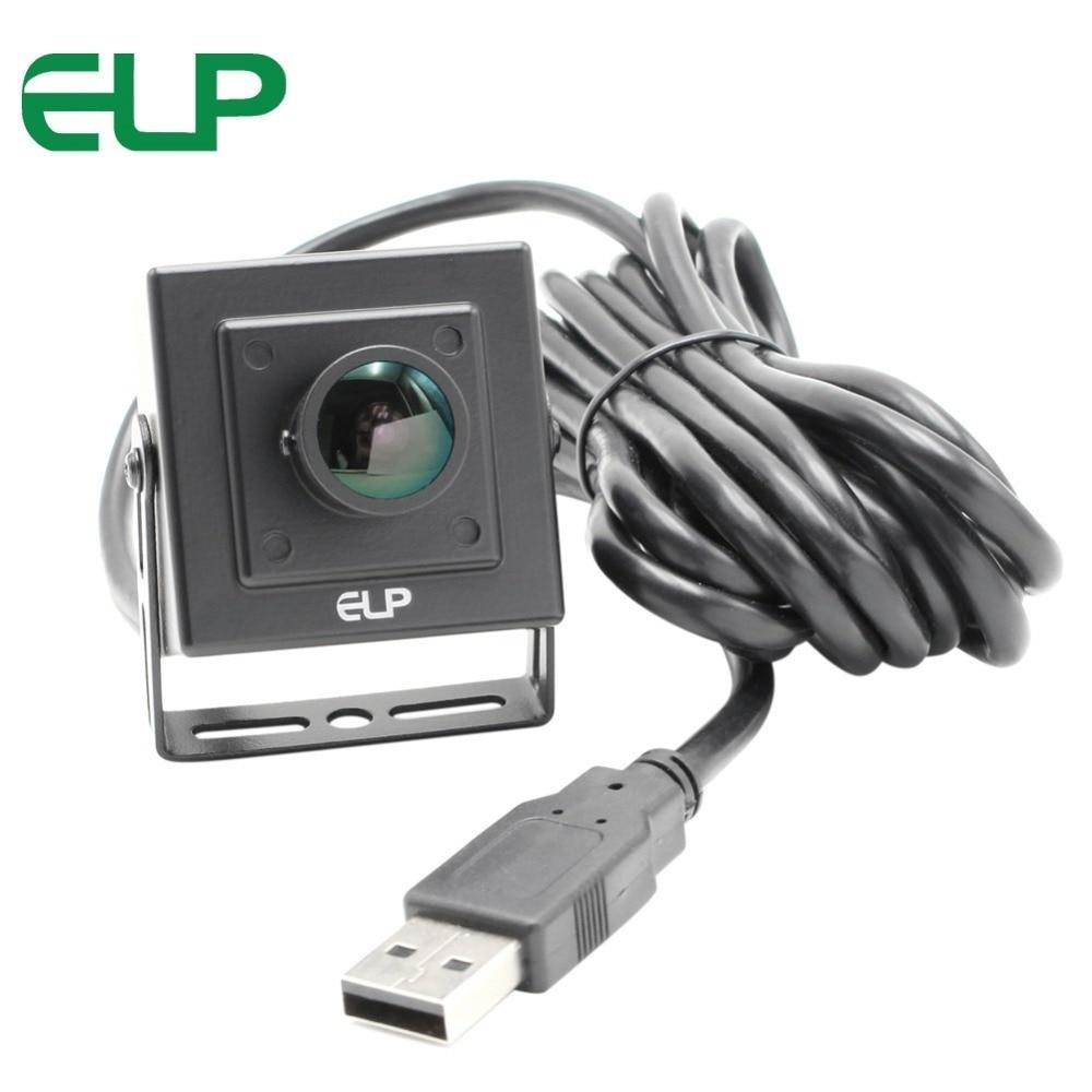 2MP Security Webcam 1080P HD Mini CMOS OV2710 UVC OTG 30fps 60fps 120fps 170degree fisheye lens