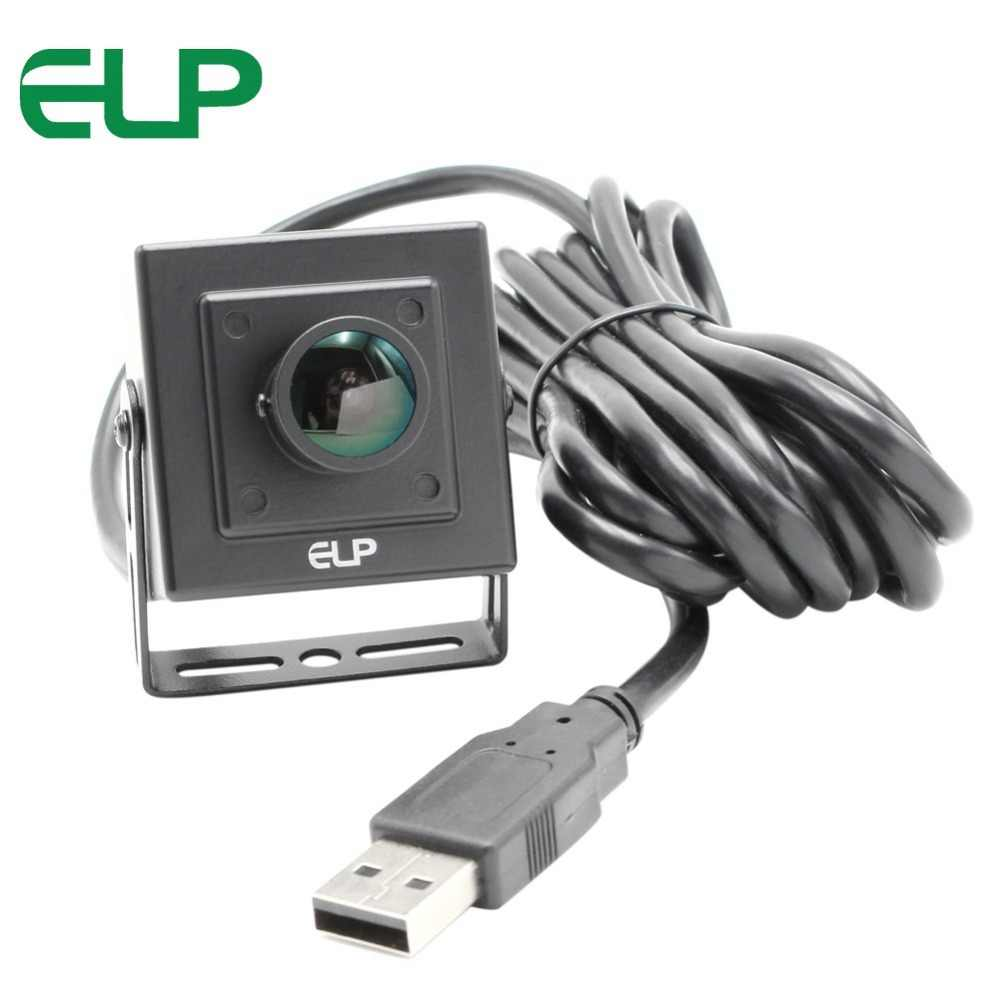 2MP веб-камера системы безопасности 1080 P HD Mini CMOS OV2710 UVC OTG 30fps/60fps/120fps 170 градусов объектив «рыбий глаз» Широкий формат CCTV Камера USB 2,0
