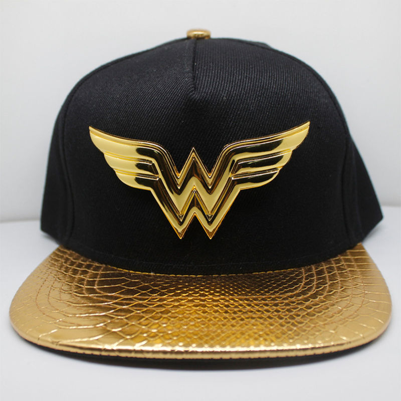 Justice League Wonder Woman Baseball Cap New Fashion Men and Women Adlut Hats Hip Hop Caps Black Gold Casual Snapback Hat feitong summer baseball cap for men women embroidered mesh hats gorras hombre hats casual hip hop caps dad casquette trucker hat