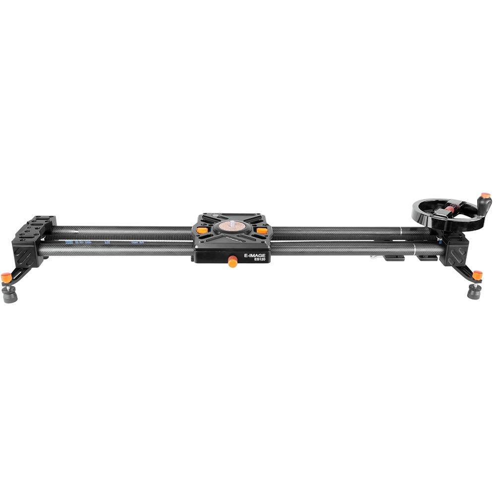 E-Image extendable ES80 80cm-220cm video carbon fiber Slider + motor motorized camera track dslr slider for DSLR Camcorders