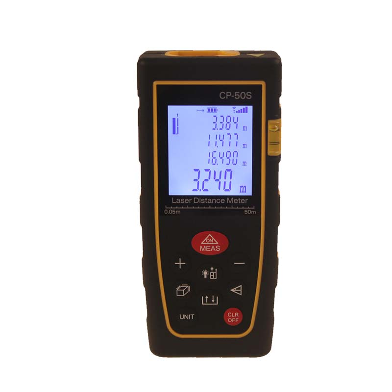 Laser Distance Meter 50m 164ft Laser Rangefinder Measurer CP-50S Laser Range Finder Medidor Measure Area/Volume Tool