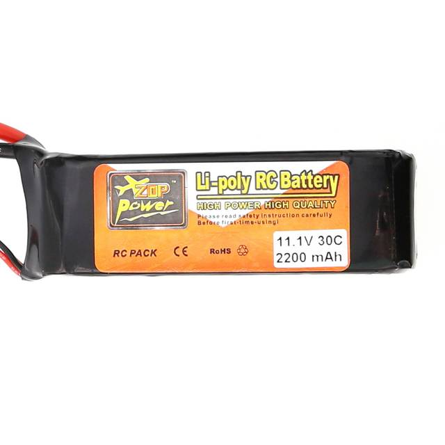 High quality 2200mAh 11.1V 3S 30C Lipo Battery T Plug For RC Quadcopter Drone Car Airplane Toy Free Shipping S