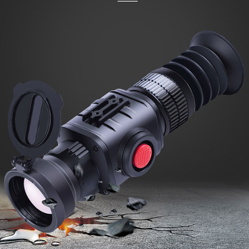 Image 2 - Thermal Imaging Infrared Night Vision Sight Aiming Device Monocular Crosshair Riflescope CS 7 Thermal Imager for Outdoor Hunting-in Night Visions from Sports & Entertainment