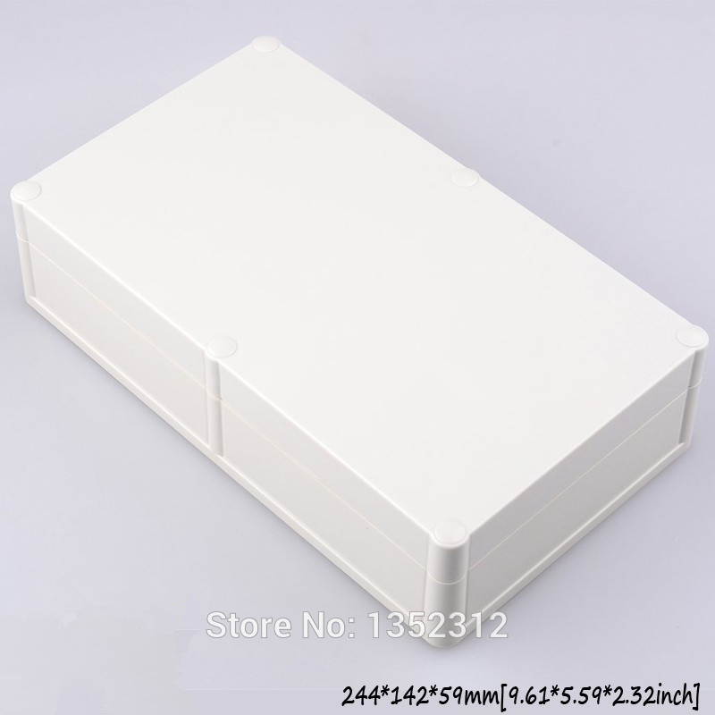 1 pcs 244*142*59mm plastic waterproof enclosure for electronic ip68 device box housing DIY plastic project box instrument box