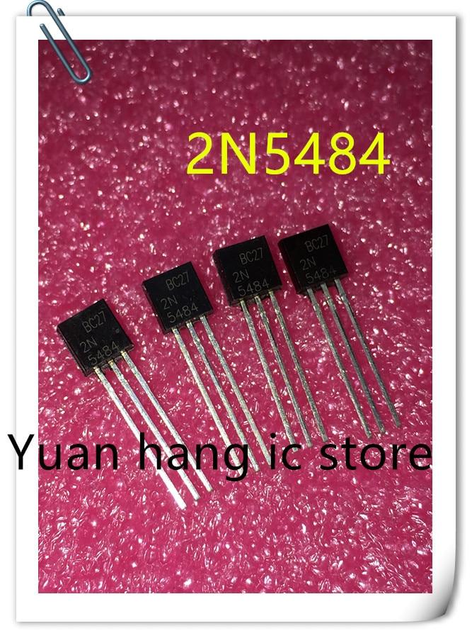 Free Shipping 10pcs/lot ELectronic 2N5484 IC AMP RF N-CHAN 25V 10MA TO-92