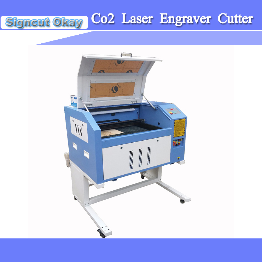 Co2 Laser Engraving Cutting Machine TS4060/6040 80w Power 110V/220V Honey Comb Work Table Laser Engraver Cutter Machine