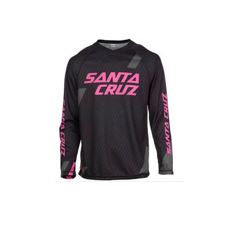 New Santa Cruz Mountain Bike Jersey Breathable Downhill Cycling Long Sleeves 98473e3b5