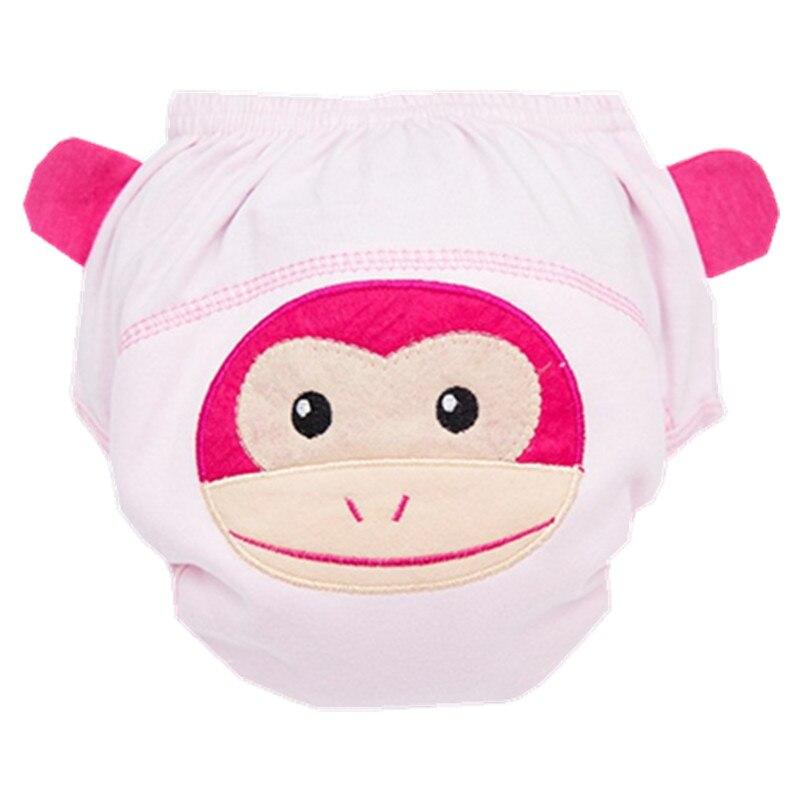 4 capas de pañales de algodón del bebé pañales pantalones de - Pañales y entrenamiento para ir al baño - foto 6