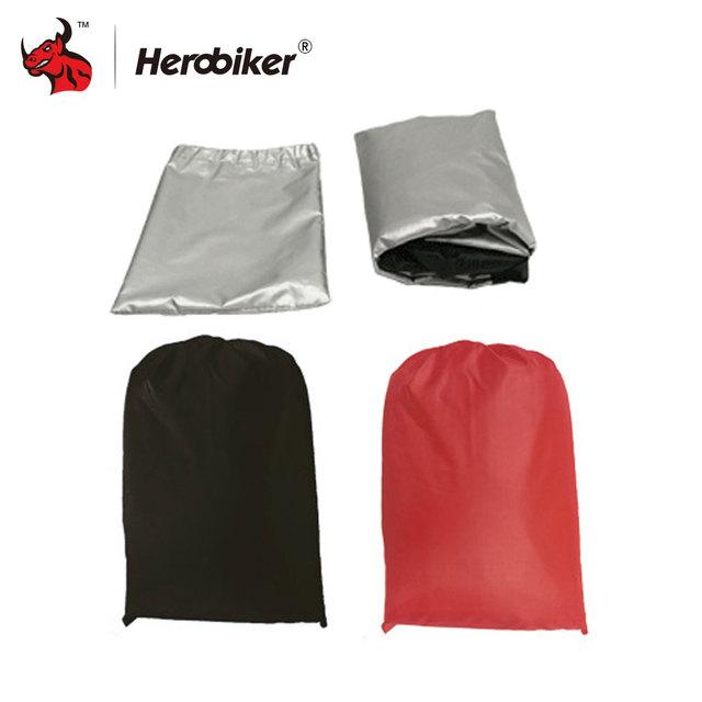 HEROBIKER Motors Bike Motorcycle Covers Dust Waterproof Outdoor Indoor Rain UV Protector Cover Coat For Bicycle Scooter 9 Colors