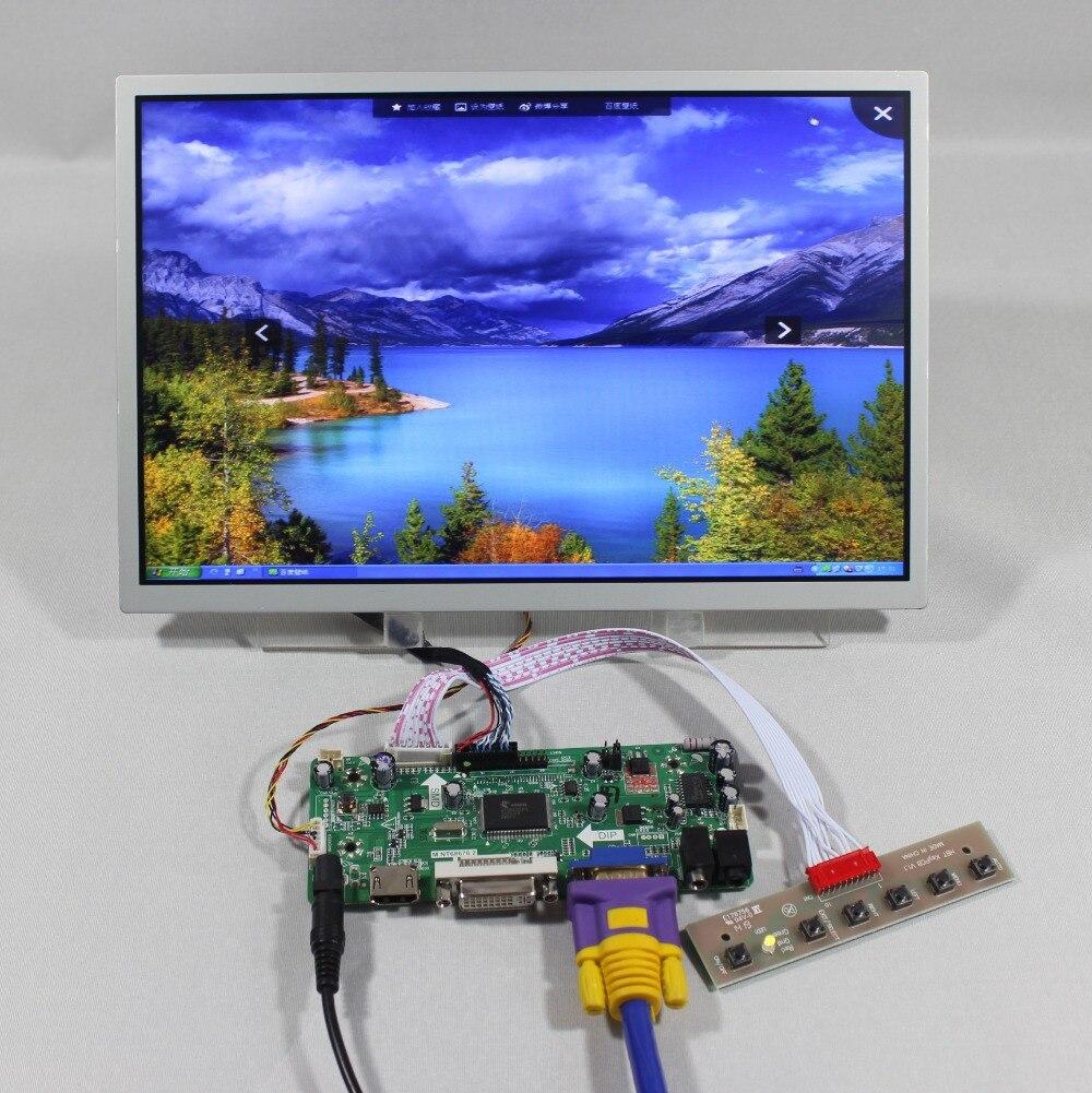 HDMI VGA DVI Audio Controller board 12.1inch LQ121K1LG52 1280X800 lcd panel details about hdmi vga dvi audio controller board 12 1inch ac121sa01 800 600 lcd panel