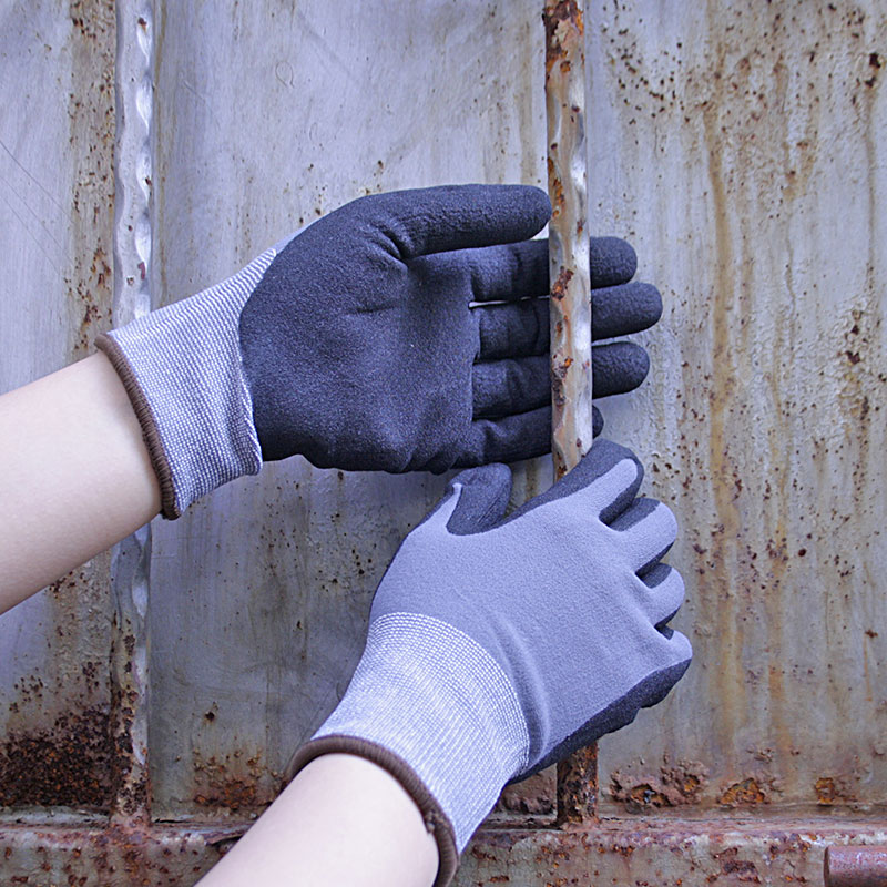 NMSafety 3 pairs High-technology Foam Nitrile Gloves,glove work protection glove