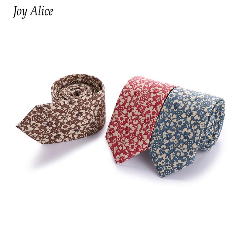 2018 Bumbac moda Mens Cravate Narrow Neckties 6 cm Tie pentru - Accesorii pentru haine