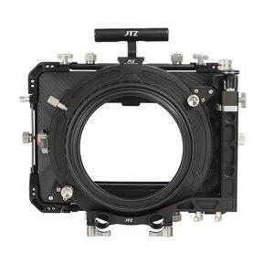 "Image 2 - JTZ DP30 Cine Carbon Fiber 4x5.65 ""Matte Box 15mm/19mm Voor Sony ARRI ROOD CANON A7 A7R A7RS A7RSIII GH4 GH5 GH6 A6500 FS7"