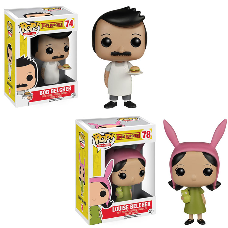 Funko pop  Horror Movie: Bob's Burgers - Louise Vinyl Figure Collectible Model Toy with Original Box