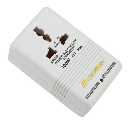 FDDT 100W 110V 120V to 220V 240V Step Up Down Voltage Converter Transformer Travel White