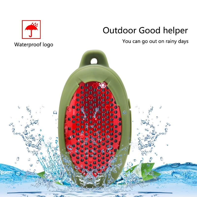 Alto-falante sem Fio Portátil do Orador de Bluetooth para a Escalada ao ar Móvel do Jogo do Orador da Bicicleta do Chuveiro Impermeável Livre Água