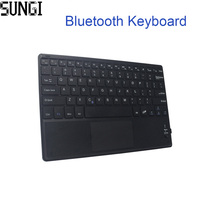 Mini Keyboard Wireless Bluetooth 3 0 Ultra Thin Multi Touch BT With Touchpad Keyboard For Tablet