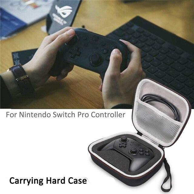 Nintend Switch Pro Controller Case Nintendoswitch Nintendos switch EVA Protective Hard Carrying Case for Switch Pro Controller 2