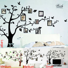 photo tree frame family forever memory tree wall decal decorative adesivo de parede removable pvc wall sticker diy zooyoo94AB