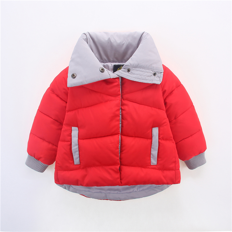 Newest Fashion Winter Girls Thick Short down coats for kids Winter jacket Girls Outerwear Girls Spring