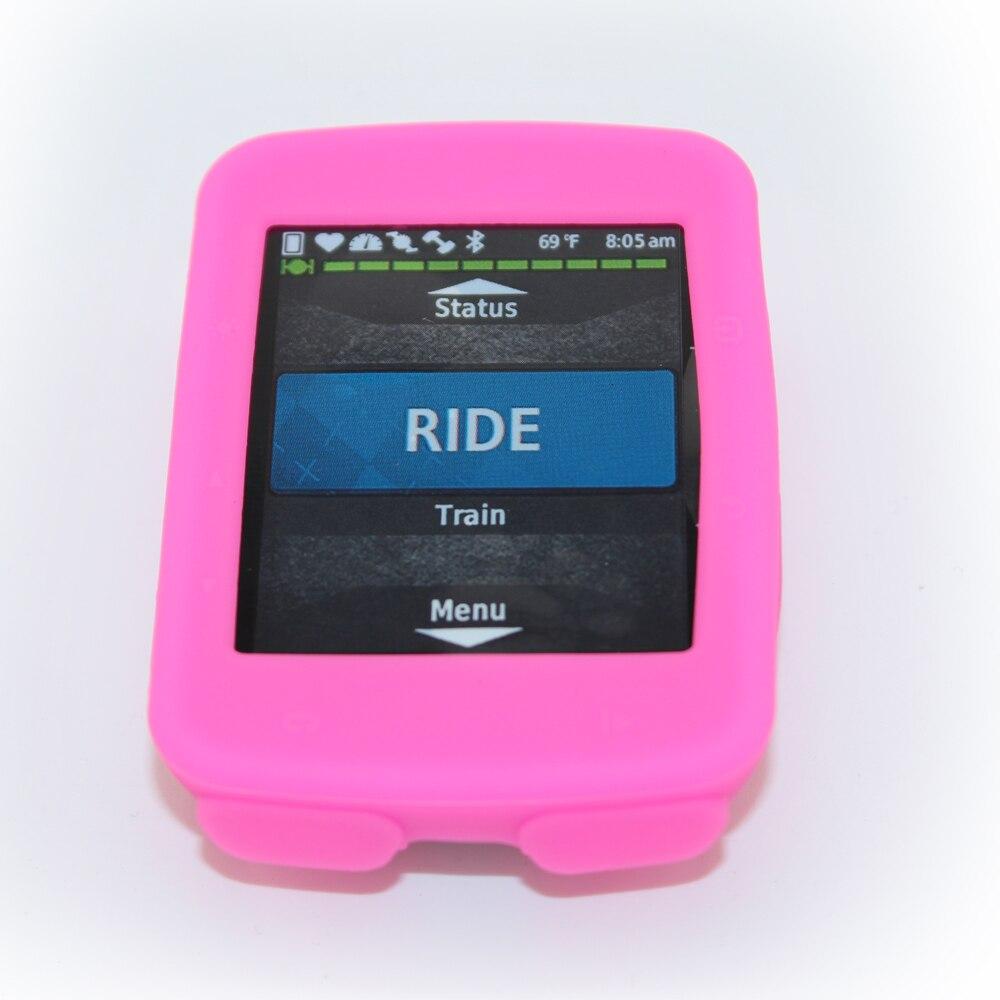Garmin Edge 520Cycling kompüter üçün silikon kauçuk qoruyucu - Velosiped sürün - Fotoqrafiya 3