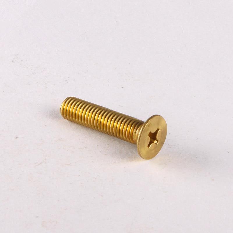 10PCS Copper Countersunk Head Screws M4 * 30 special copper screws copper hexagon bolt copper outer hexagonal screws m16 80