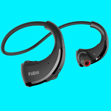 FiiDiil Sport Bluetooth Earphone IPX5 Waterproof Wireless Headset Ear Hook Headphone Stereo Audio with Microphone(China)