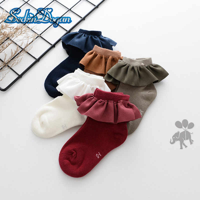 Kids Socks Fashion Lace Baby Girl Socks Princess Soft Baby Short Socks High Quality Kids Girl Socks Faux Suede Newboen Socks