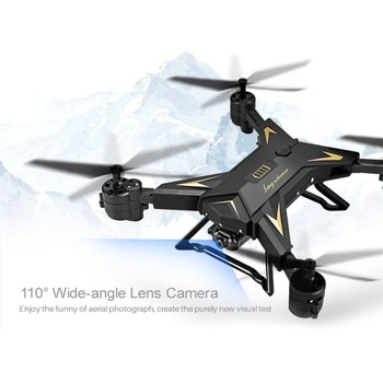 4 Channel Wide Angle Long Lasting KY601S Foldable RC Quadcopter Camera Drone HD 1080P WIFI FPV Selfie Drones Remote Helicopter