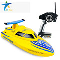 2.4G wireless remote control speed boat 2CH electric Boat & Ship rc speedboat with Rechargeable battery Converter  Charger