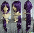 Wholesale price Hot Sell! TSC^^^^ Hot Sale~Yoruichi Purple Cosplay Party Wig