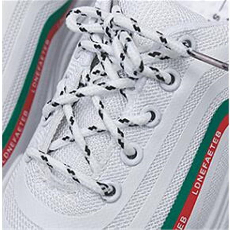 Casual Femme Appartements Blanc Noir Feminino Creepers Femmes Lace Noir blanc Up Dames Tenis forme Sneakers Feiyitu Chaussures Espadrilles Plate wzaZ0Wwqg
