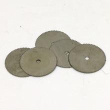10pcs 22mm HSS Circular Saw Blades Disc Cutter for Dremel Rotary Tool Accessory