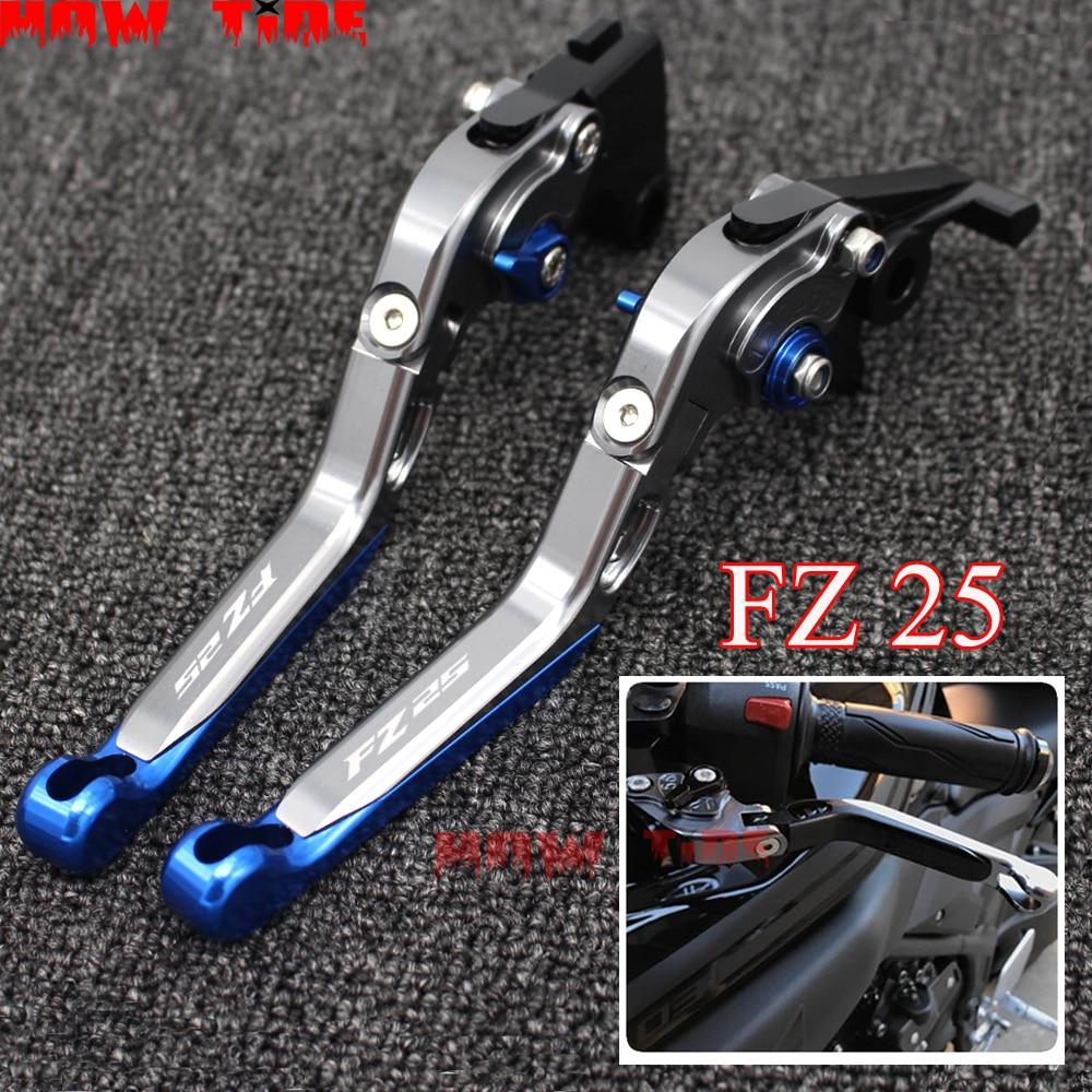 Folding retractable brake clutch handle for YAMAHA FZ 25 FZ25 25 FZ 2017 2018 Motorcycle accessories