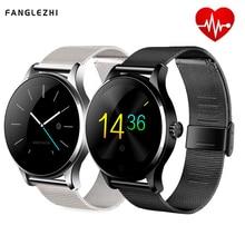 Smart Watch K88H Bluetooth Smartwatch Waterproof Heart Rate K88H Smart Watch Wristwatch 1.22 Inch IPS Round For Apple Android