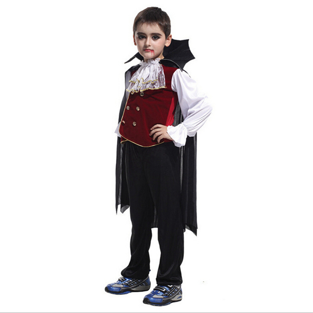 Free shipping!!Handsome and cool the count vampire Halloween ...