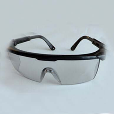 Co2 laser safety glasses O D 5 CE certified with adjustable length frame