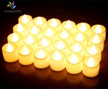 Wholesale LED Candle Night Light Electronic Candle Home Wedding Birthday Party Christmas Decoration Lights Lamp Battery Included