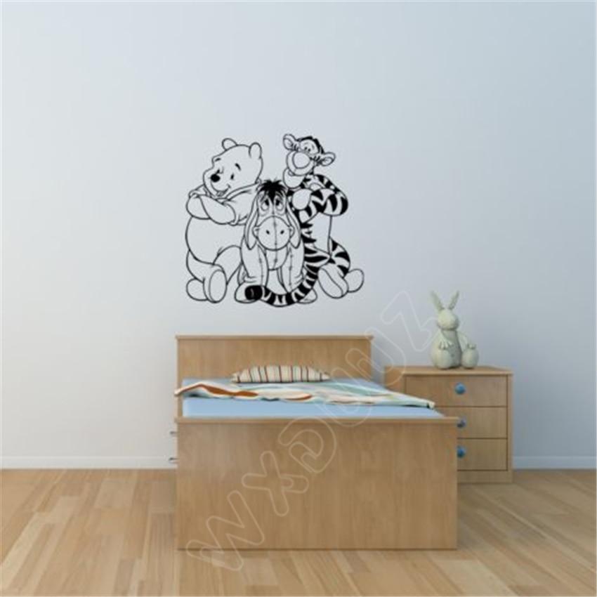 Wxduuz Winnie The Pooh Children S Bedroom Nursery Playroom
