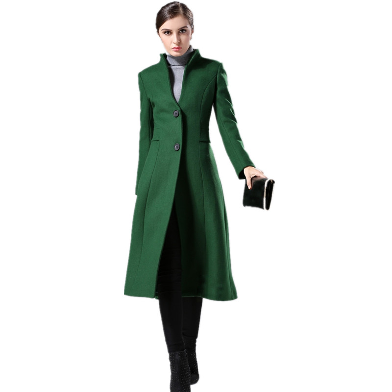 Collar Wool Winter Coats Women Promotion-Shop for Promotional ...