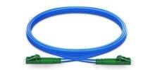 1 m 2 m 3 m LC APC à LC APC Duplex monomode blindé PVC (OFNR) câble de raccordement, câble cavalier