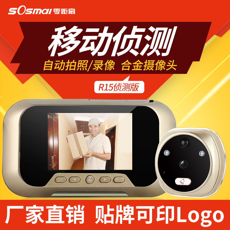 3 Inch 175 Degree Viewing IPS Door Viewer Camera Smart Peephole Viewers Video Recorder Doorbell Night Vision Camera 8G TF Card 2 8 tft display door viewers 3mp cmos sensor hd digital peephole viewer video recorder mini household electronic doorbell