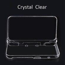 Masiken protector funda para Nintendo 2DS XL ll ultrafino transparente integrado cristal duro Conchas Carcasas Conchas manga