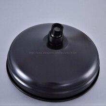 Cabezal de ducha de baño redondo Vintage Retro de 8 pulgadas, rociador de ducha de latón con aceite negro frotado Nsh003
