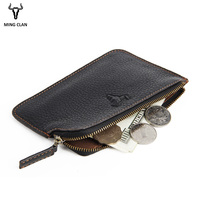 Mingclan Slim Women Minimalist Wallet Travel ID Credit Card Holders Case Zipper Wallet Coin Purse Mini Wallet Men Wallets Pocket