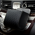 car storage box phone holder sheepskin car organizer